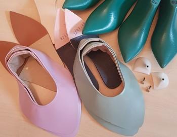 งานต้นแบบของการผลิตรองเท้า